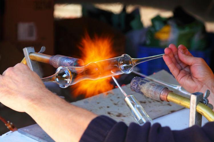 artisan, blown glass, maker movement