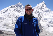 Richard Turner at Everest Base Camp