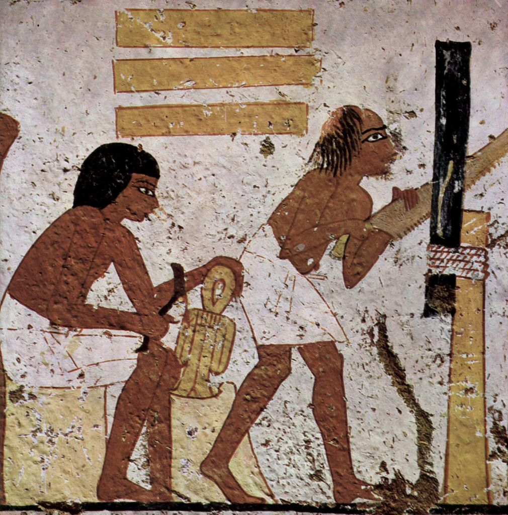 Ancient Egyptian woodworking
