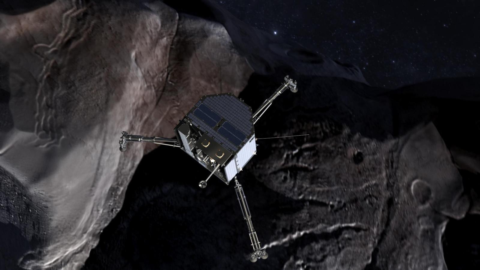 Philae lander - a part of the Rosetta spacecraft