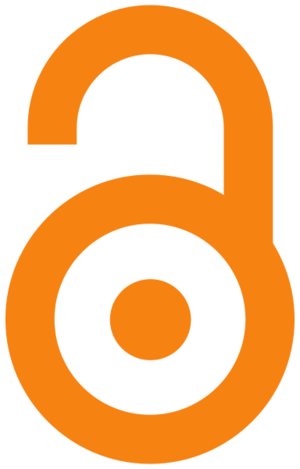 Open Access logo, designed by PLoS.