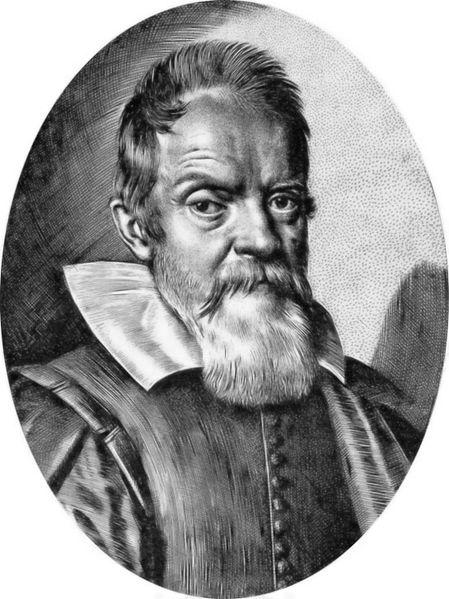 Galileo by Leoni - engraving