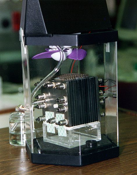 A methanol fuel cell
