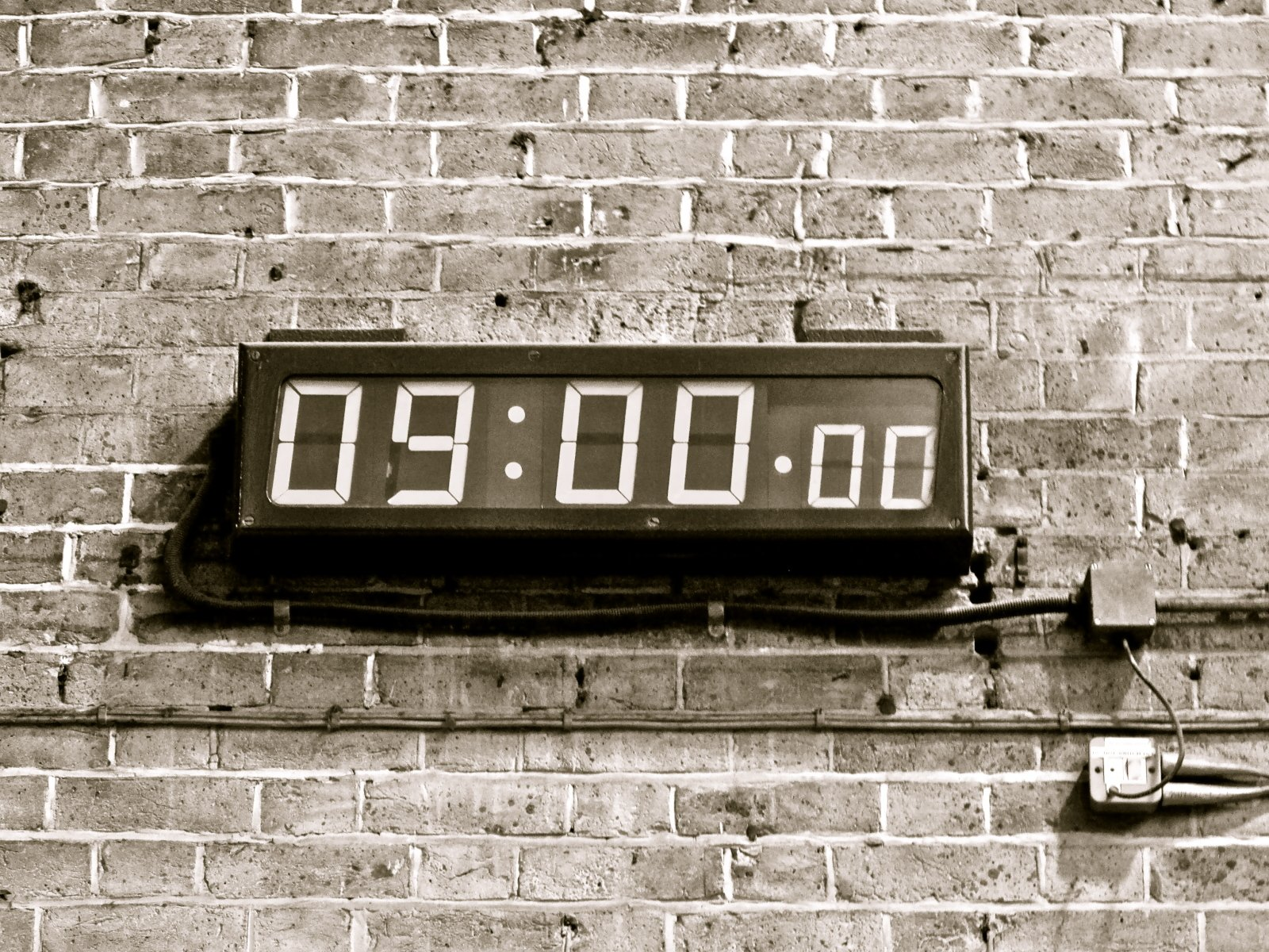 Time is running out...