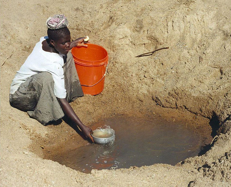 african water source