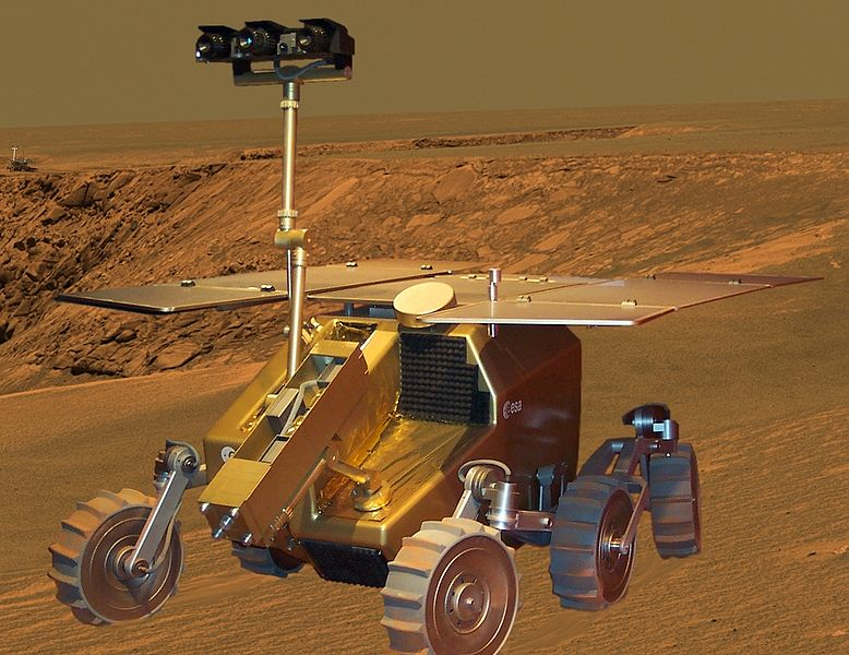 A model of the ExoMars rover