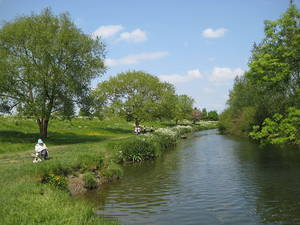The banks of the Cam at Grantchester