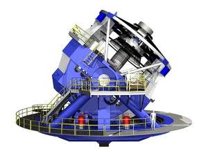 Side view of LSST, current as of 11/07