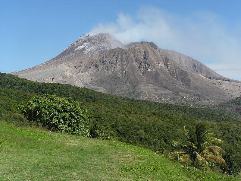 The Soufriere Hills Volcano on Monserrat