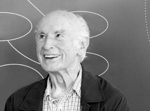 Albert Hofmann during a discussion