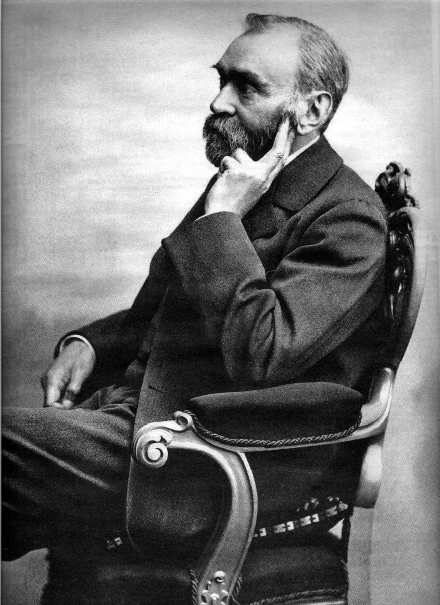 Portrait of Alfred Nobel (1833–1896) by Gösta Florman (1831–1900
