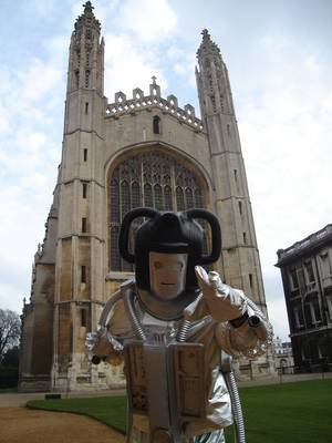 Cybermen at the Cambridge Science Festival