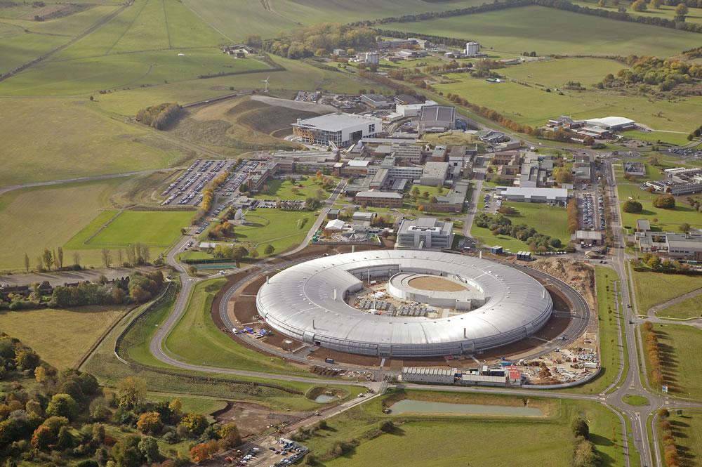 The Diamond Synchrotron in Didcot, Oxfordshire