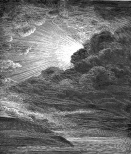 Let there be Light by Dore (d. 1883)