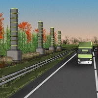 Totally sustainable highway by Innovia Tech. for the Mission Zero Corridor Project.