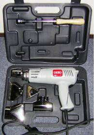 Picture of a heat gun kit