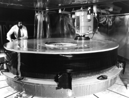Polishing of Hubble's primary mirror begins.