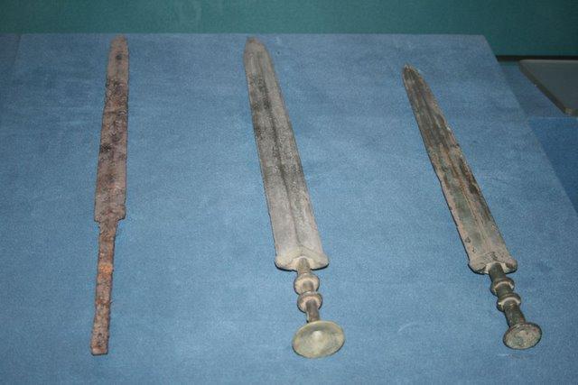 Iron Sword with Bronze Swords