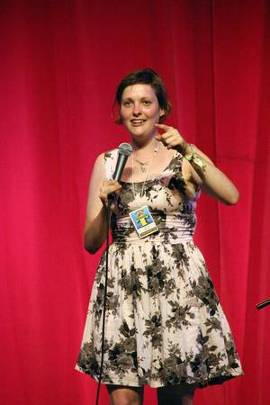 Josie Long, Caberet Tent, Glastonbury