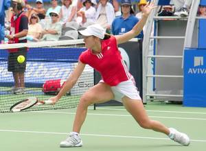 Justine Henin at the 2006 Medibank Tennis International