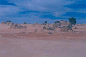 Shore of Lake Mungo