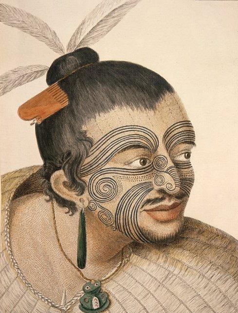 Tattoo'd Maori