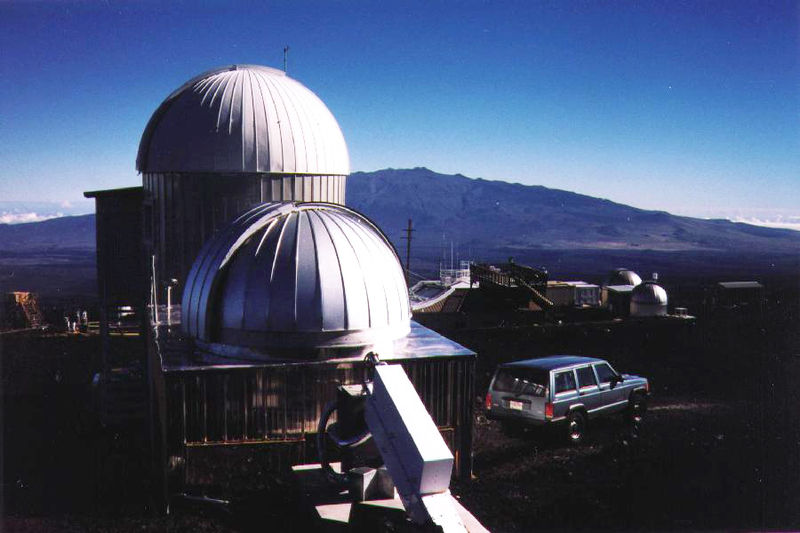 Mauna Loa Observatory where the Keeling Curve is recorded