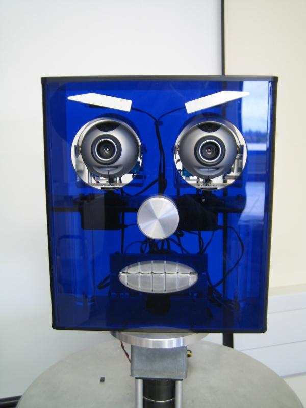 Pi - the talking robot from Heriot-Watt University's Robokid Project