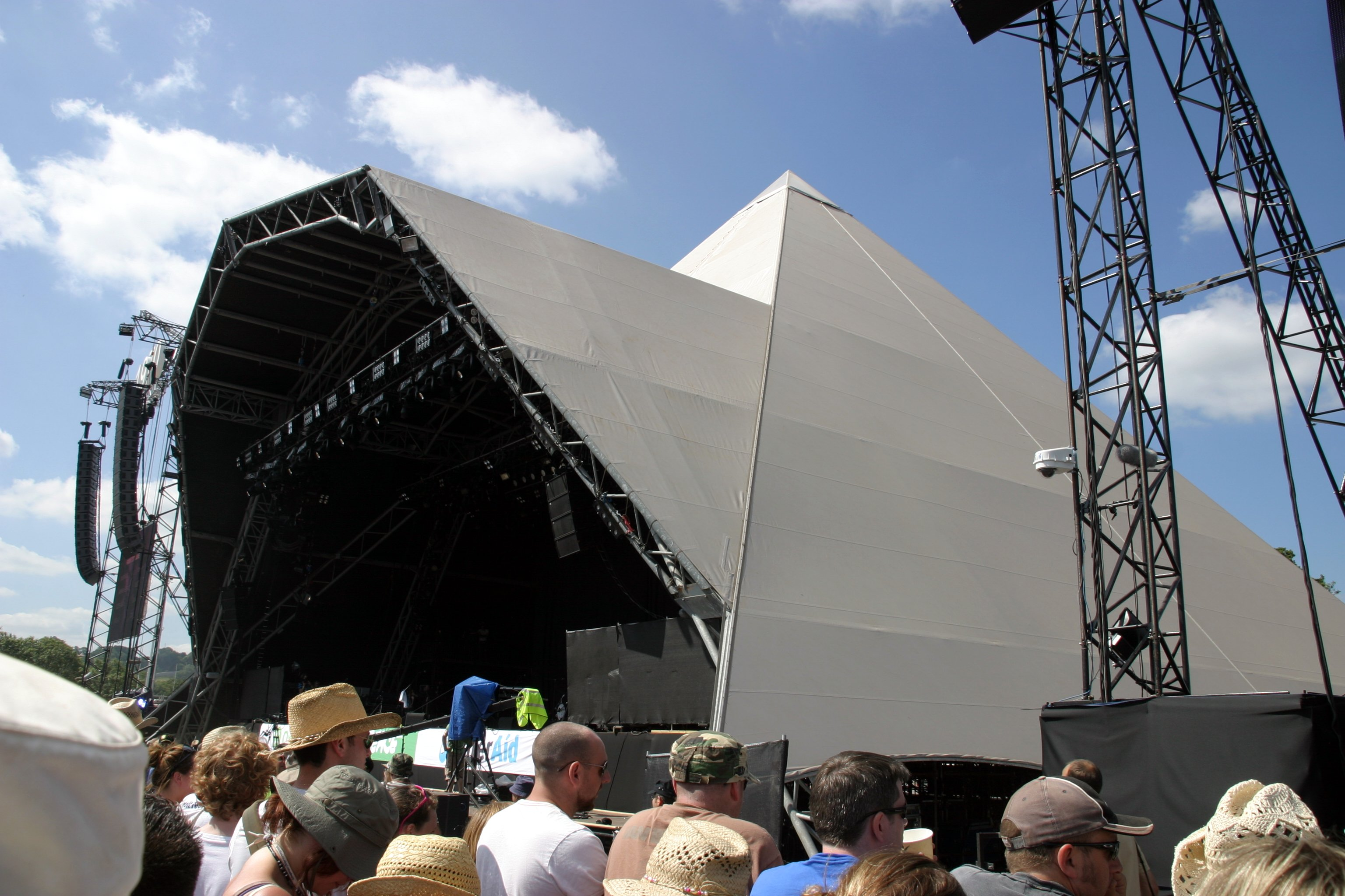The Pyramid Stage, Glastonbury