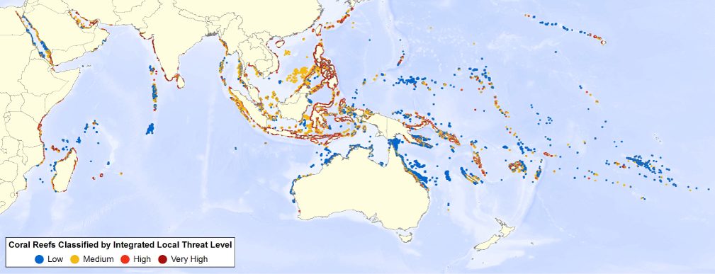 Reefs%20at%20Risk%20Revisited%20Threat%20map