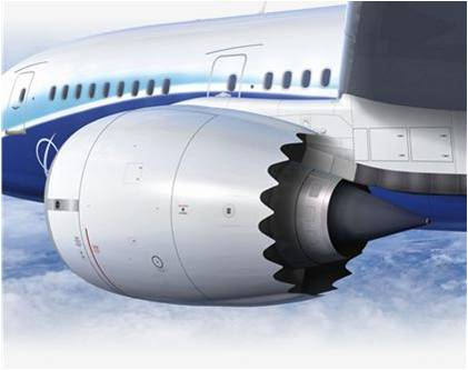 Rolls-Royce Trent 1000 powering the Boeing 787
