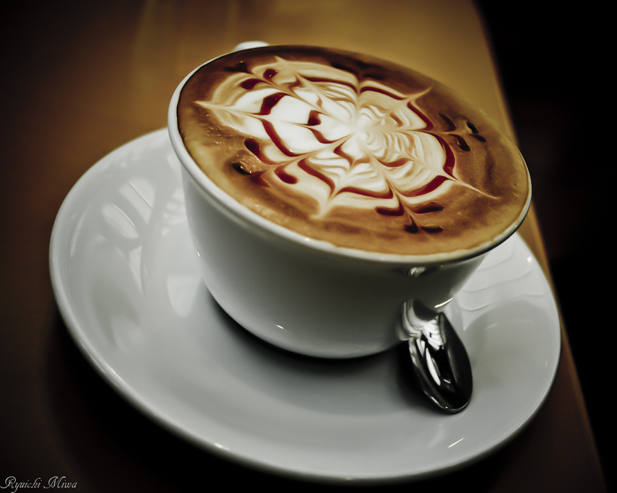 A lovely cup of coffee