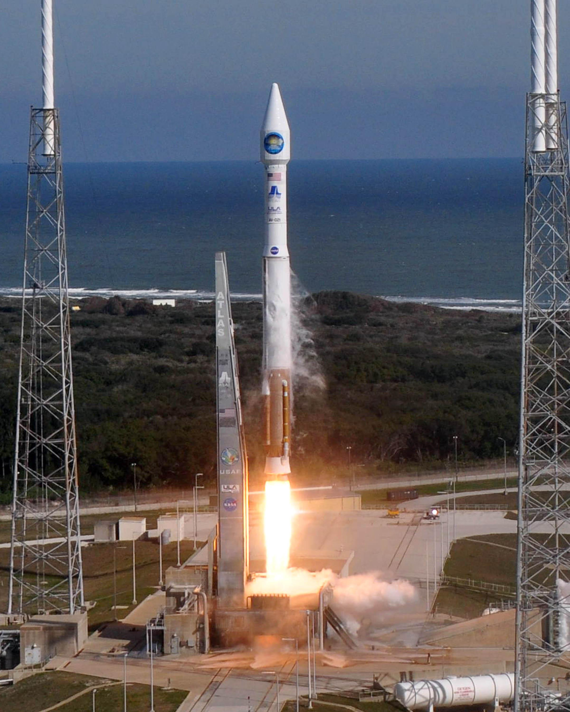 The Solar Dynamics Observatory launches...