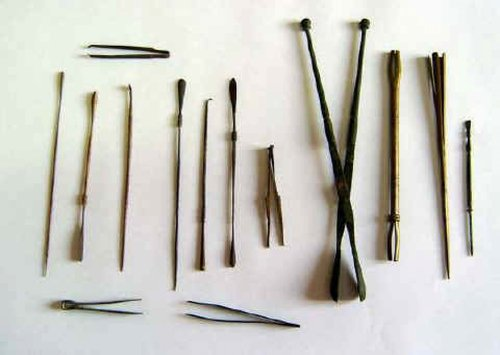 Surgical instruments used by Precian surgeries