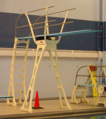 Three meter Springboard