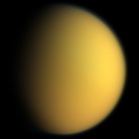 Titan in colour