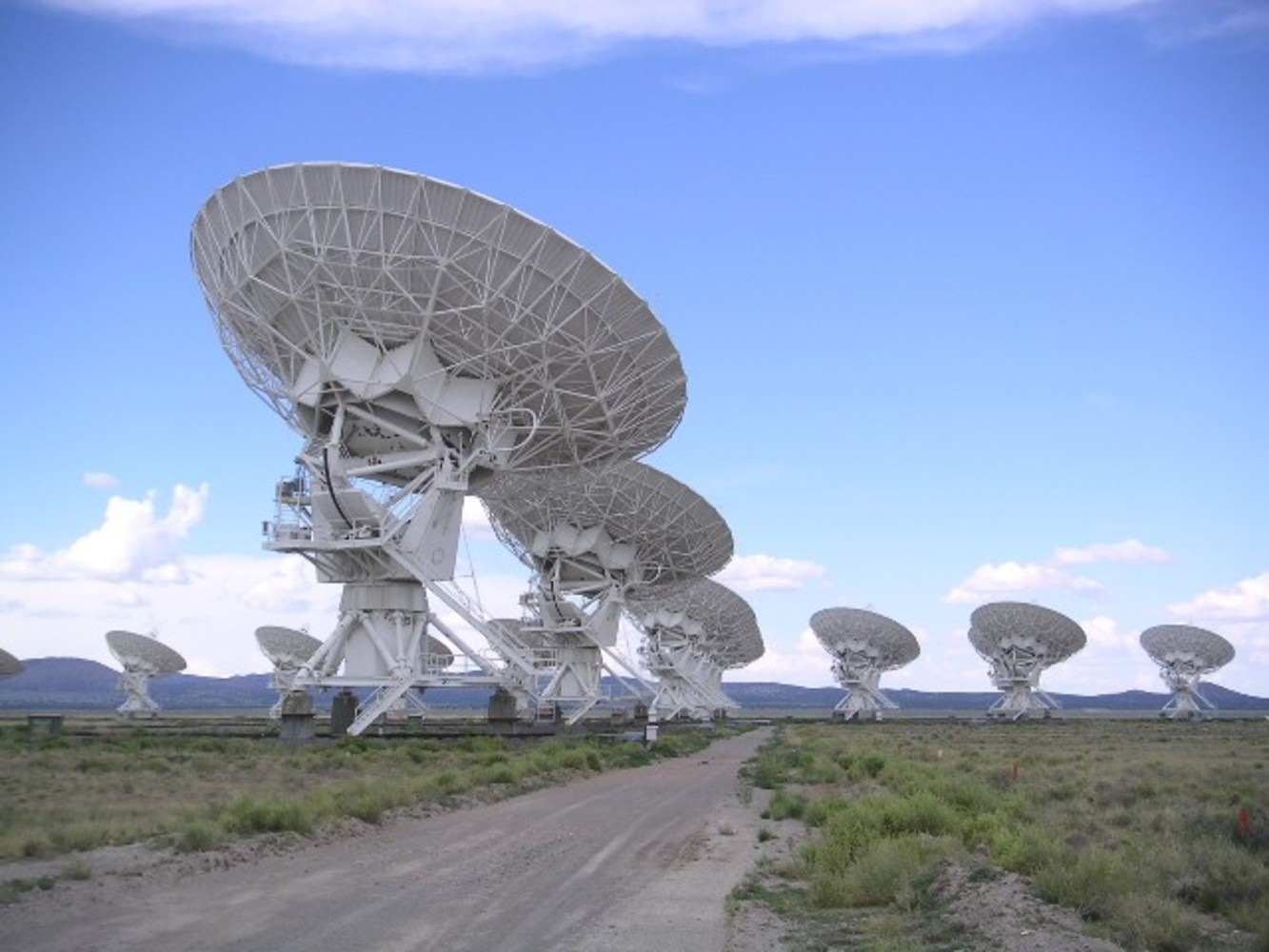 The Very Large Array at Socorro, New Mexico, United States.