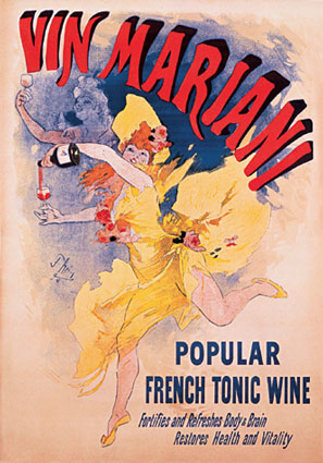 Vin Mariani Wine Advert