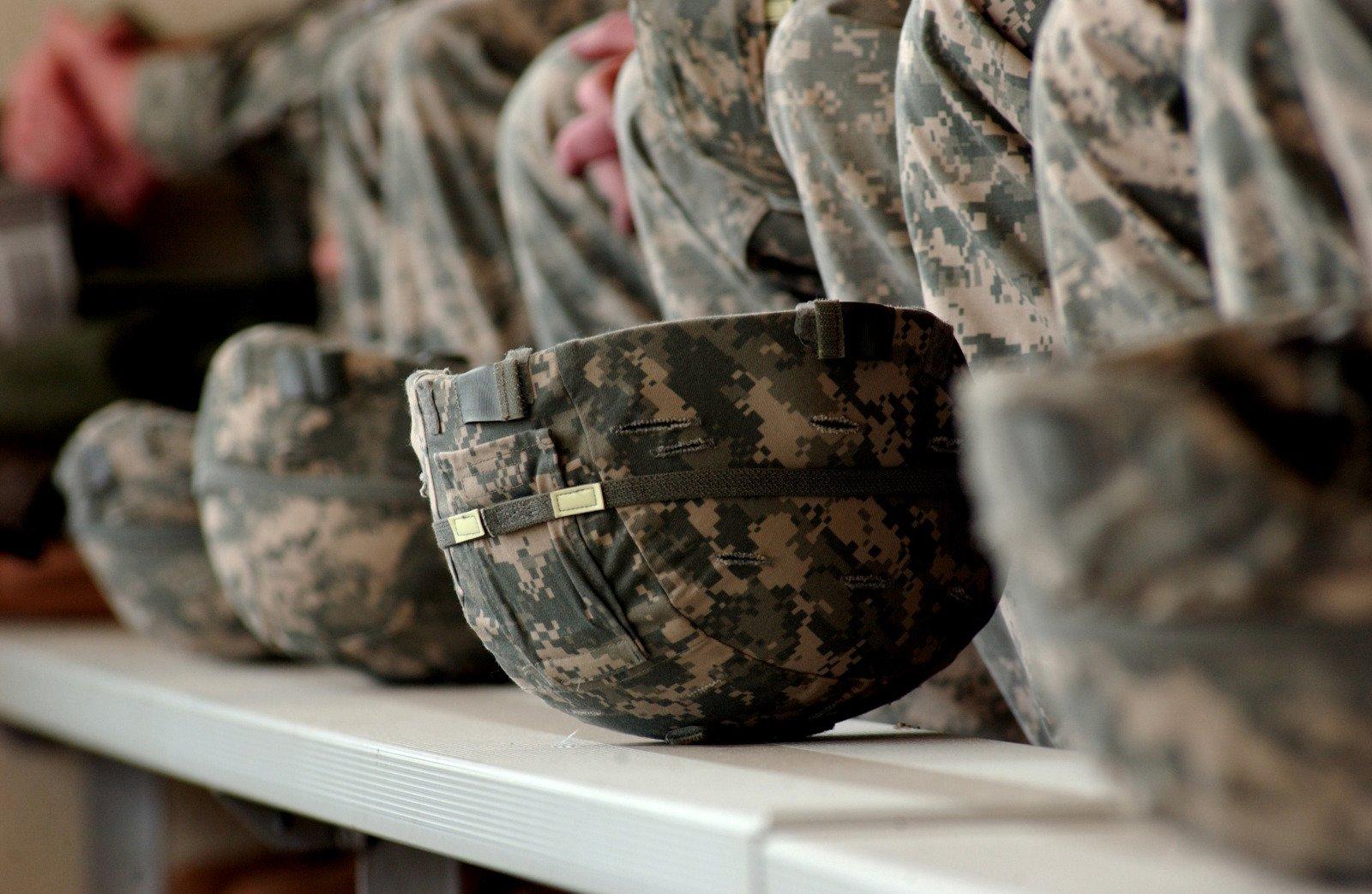 Army Helmets, US Army