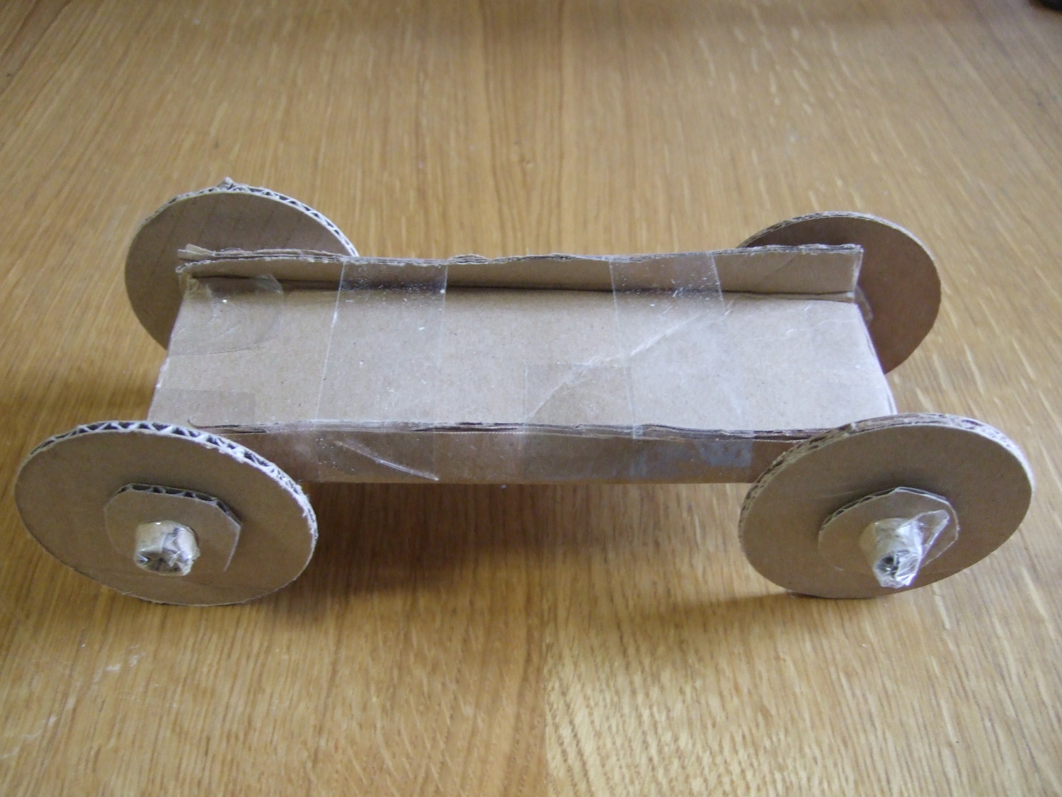Car with small axle