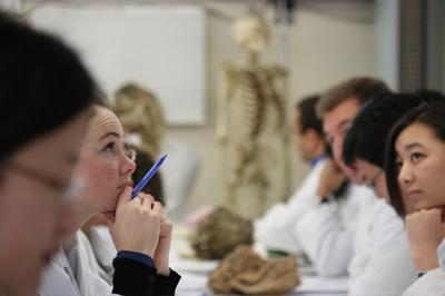 Learning from beyond the grave - medical students in the Dissection Room