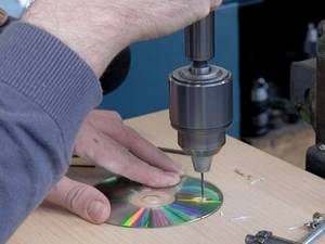Drilling a CD
