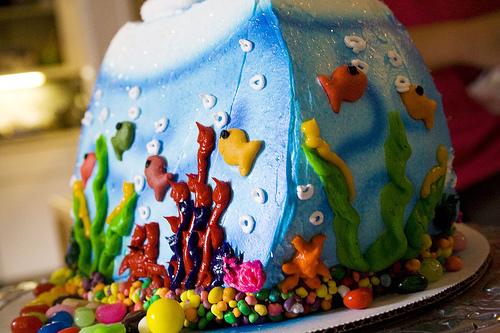 Oceans cake