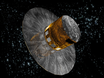 The Gaia spacecraft, which will image billions of stars in the Milky Way Galaxy