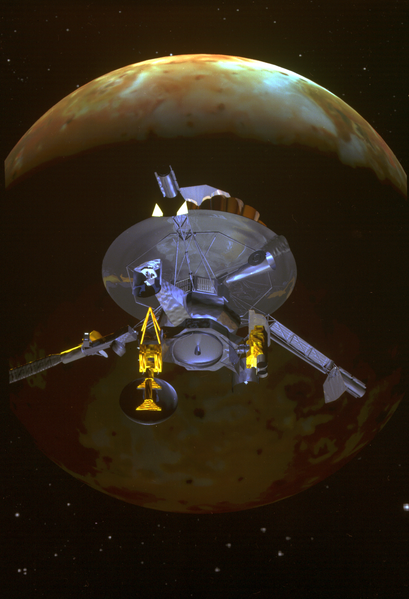 The Galileo spacecraft visited Jupiter in the early 2000s