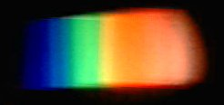 Spectrum of a Light Bulb