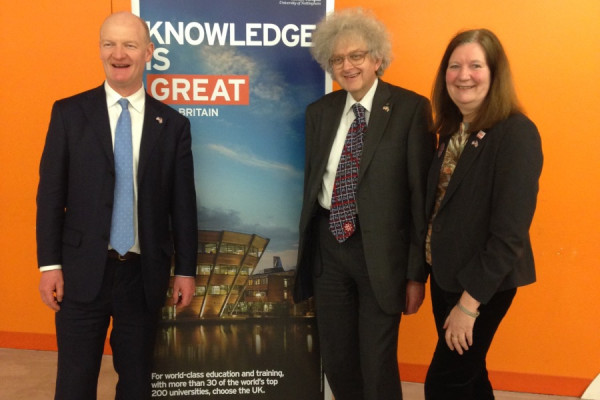 David Willetts, Martyn Poliakoff, Mary Bownes