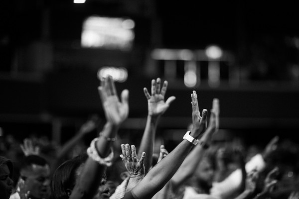 A show of raised hands