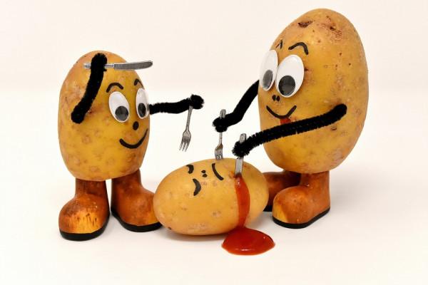 Cannibal potatoes