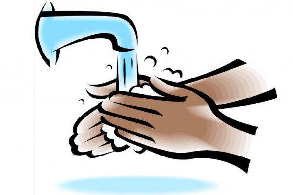 Hands washing